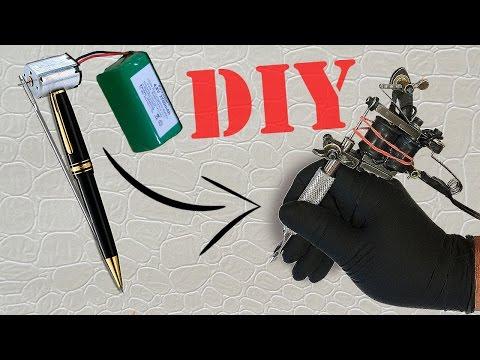 How to make a mini tattoo gun / tattoo machine | tutorial