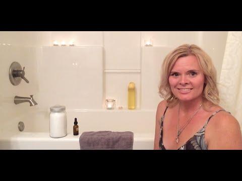 How to take a salt detox bath!