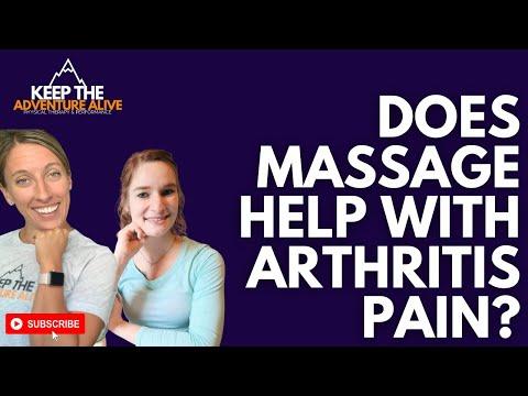 Does massage help with arthritis pain? | dr. alyssa kuhn talks to a massage therapist