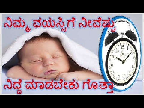 How many hours sleep do we need in kannada |how much sleep do i need in kannada|nidde|wow super guru