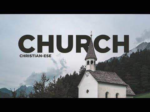 "What does ""church"" mean?"