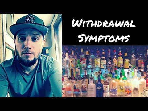 Severe alcohol withdrawal symptoms (hard)