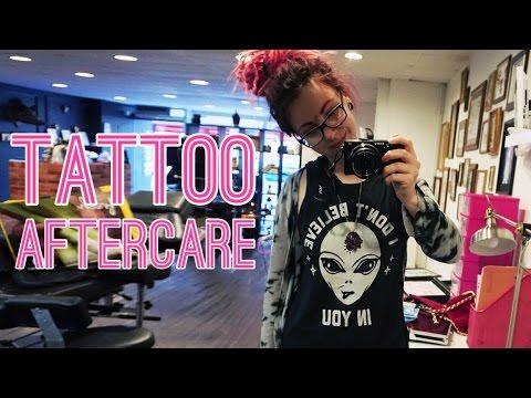 Tattoo aftercare. ask a tattoo artist