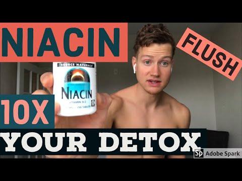 Niacin detox with sauna - pass drug test / heavy metals / detox / sauna