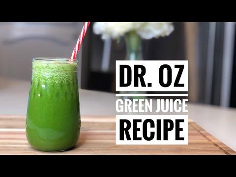 Famous dr oz green juice recipe    detox drink    body cleanse    best juice recipe    detox juice