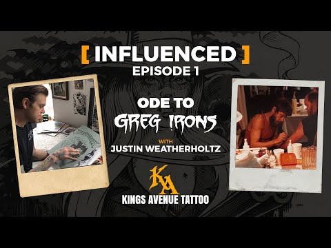 How greg irons influenced justin weatherholtz | influenced episode 1