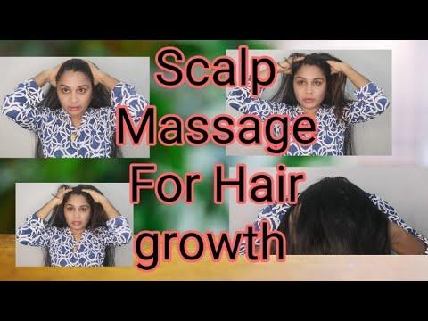 Scalp massage for hair growth    to reduce hair fall    malayalam #scalp #massage #hairfall