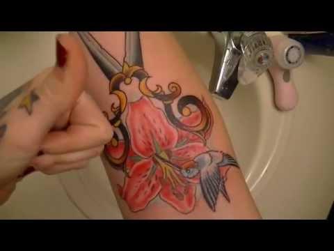 Tattoo aftercare - how i heal fresh tattoos | @bribirdhair