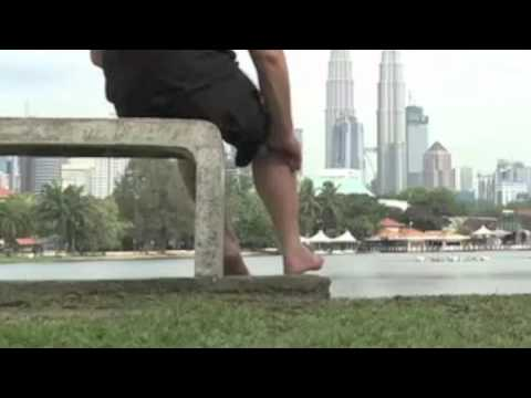 Video tutorial #78 self-help, deep tissue treatment of the knee popliteus muscle