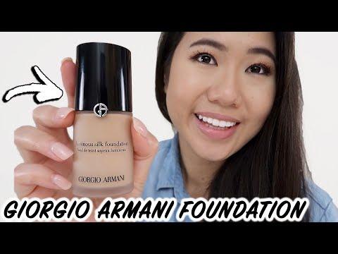 Giorgio armani luminous silk foundation review | is it worth it?